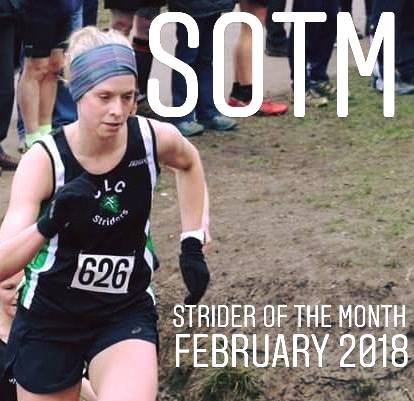 Karlien Heyrman strider of the month