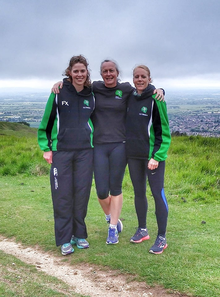 Pictured from left to right: Nicola Weager, Rebecca Reynolds and Amelia Mullins