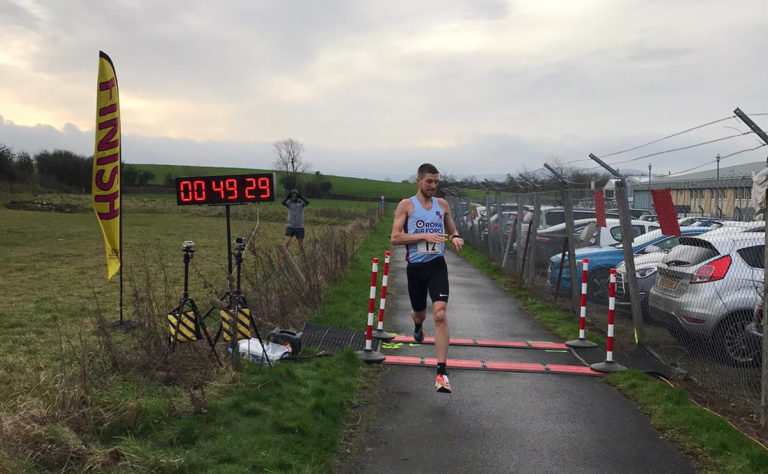 James Bellward sets new course record in Staverton 10 2020