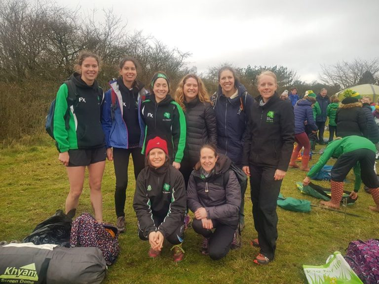 Striders women at race 3 of midland league 2020