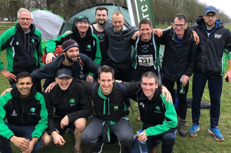 Striders men at race 3 of midland league 2020