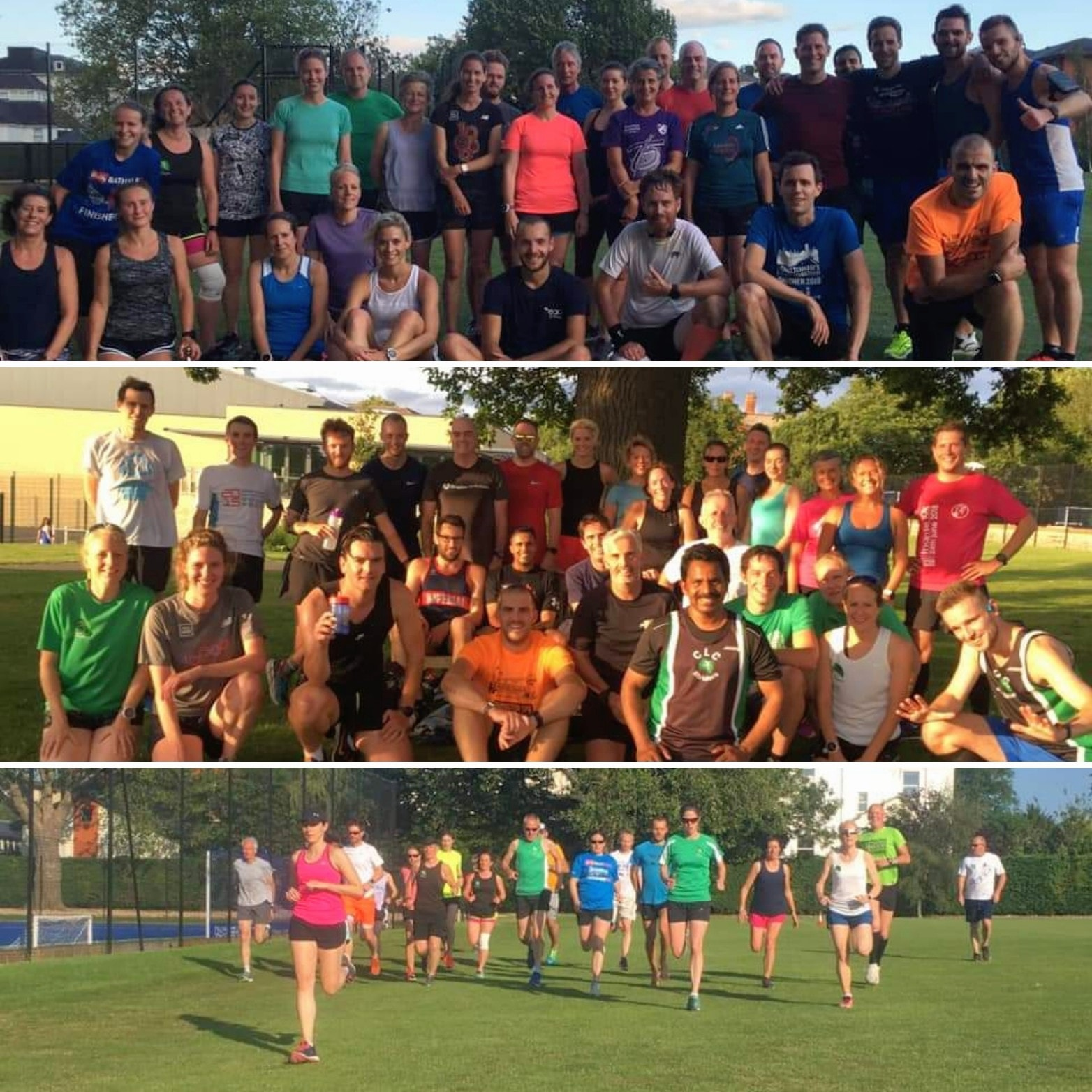 CLC Striders speed training